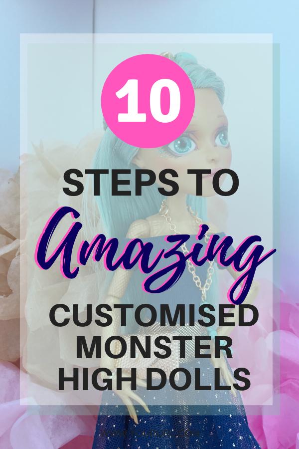 Customising Monster High Dolls